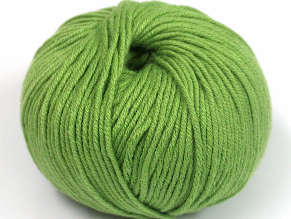 Grönt Garn Amigurumi Cotton