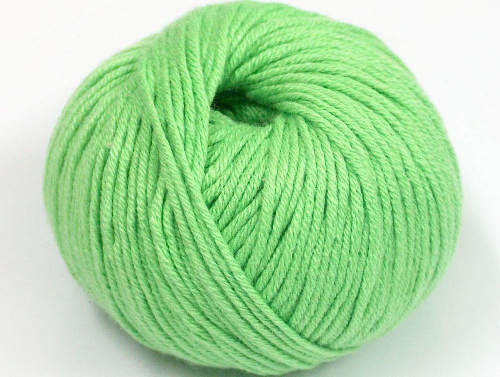 Ljusgrönt Garn Amigurumi Cotton