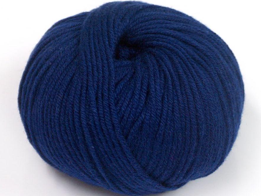 Marinblått Garn Amigurumi Cotton