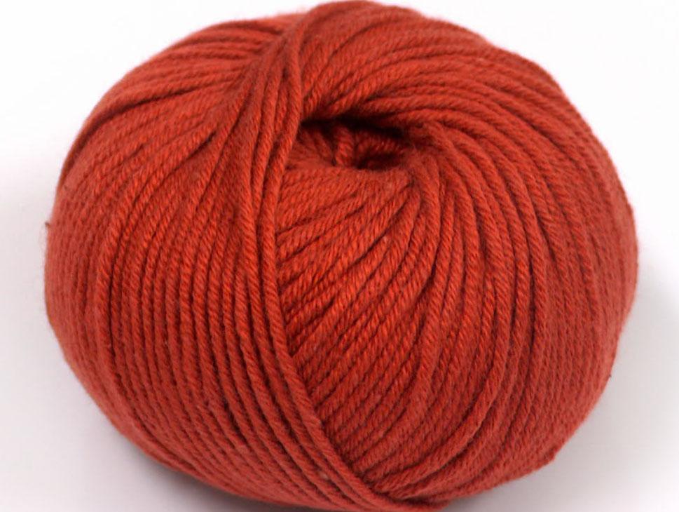Marsala Rött Garn Amigurumi Cotton