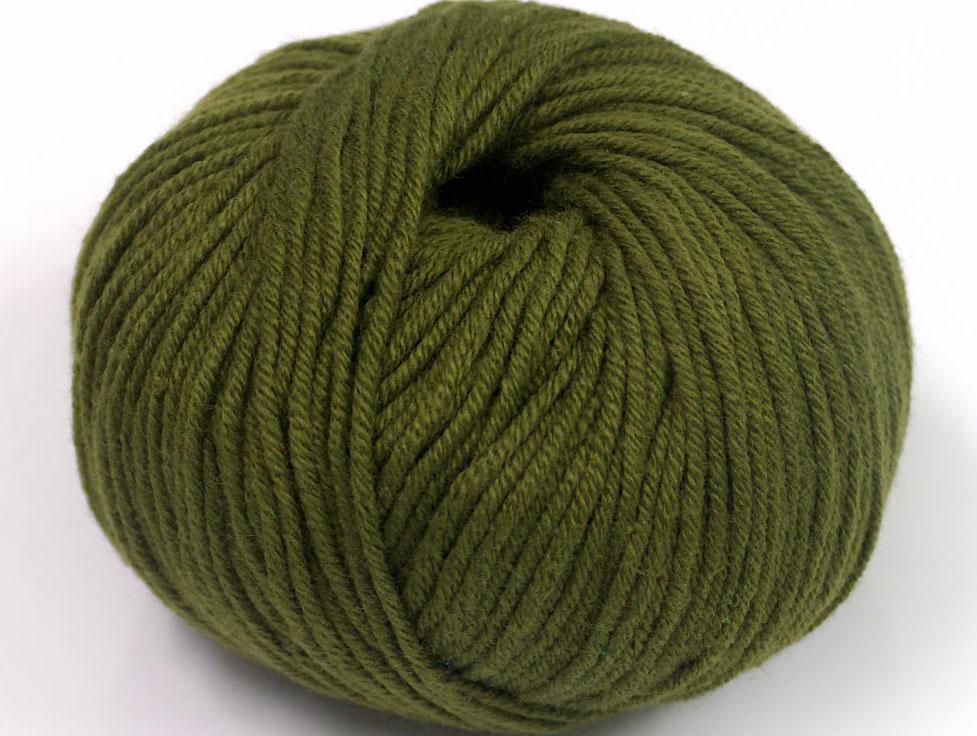 Mörkkaki Garn Amigurumi Cotton