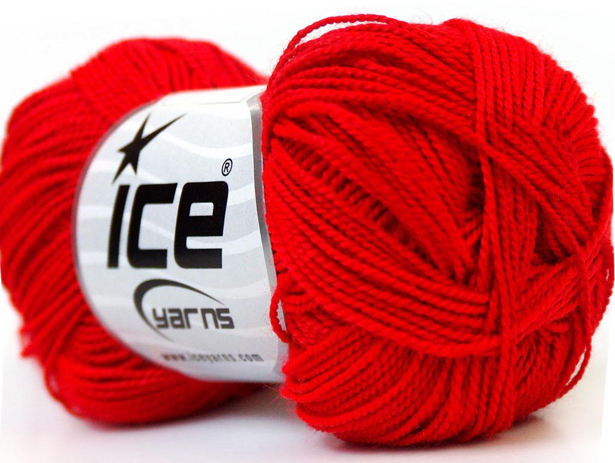 Rött garn
