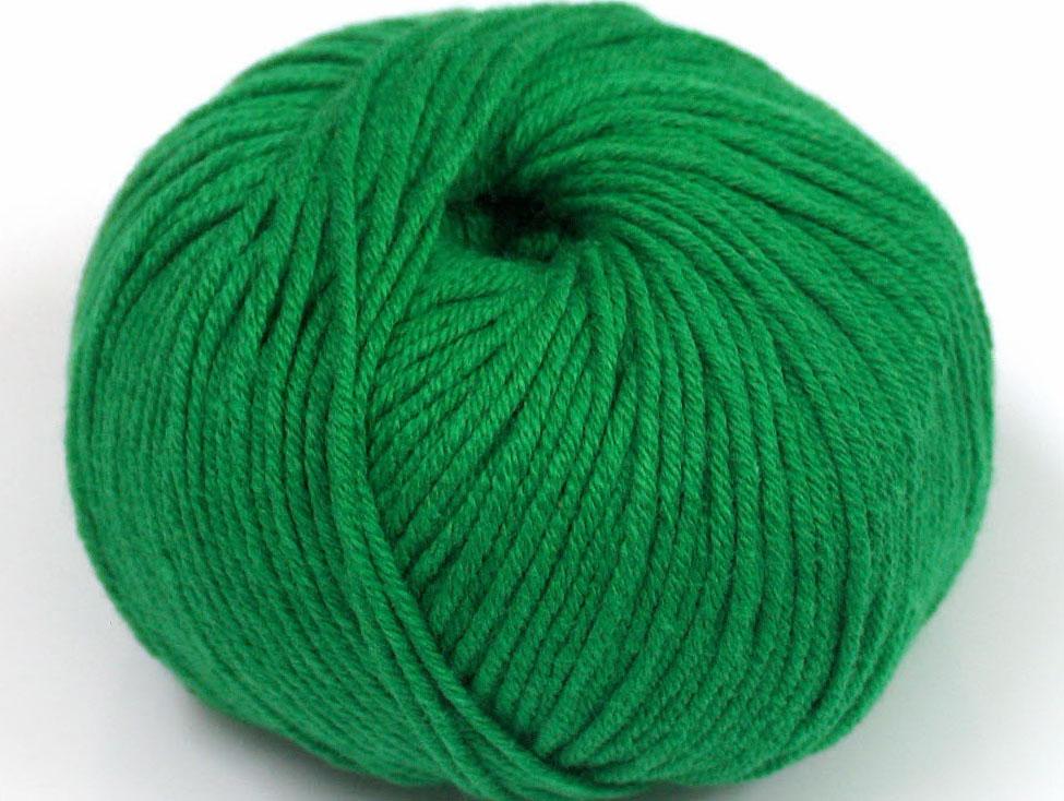 Skogsgrönt Garn Amigurumi Cotton